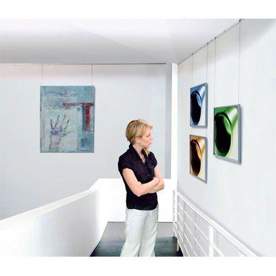 Kit per appendere quadri a parete arte system studio t for Quadri parete