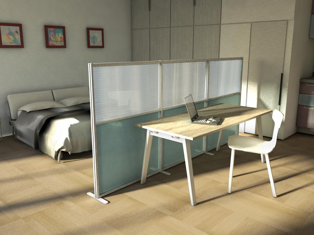 I Colori Ideali Per La Camera Da Letto : Pannelli divisori colorati realizzabili su misura studio t