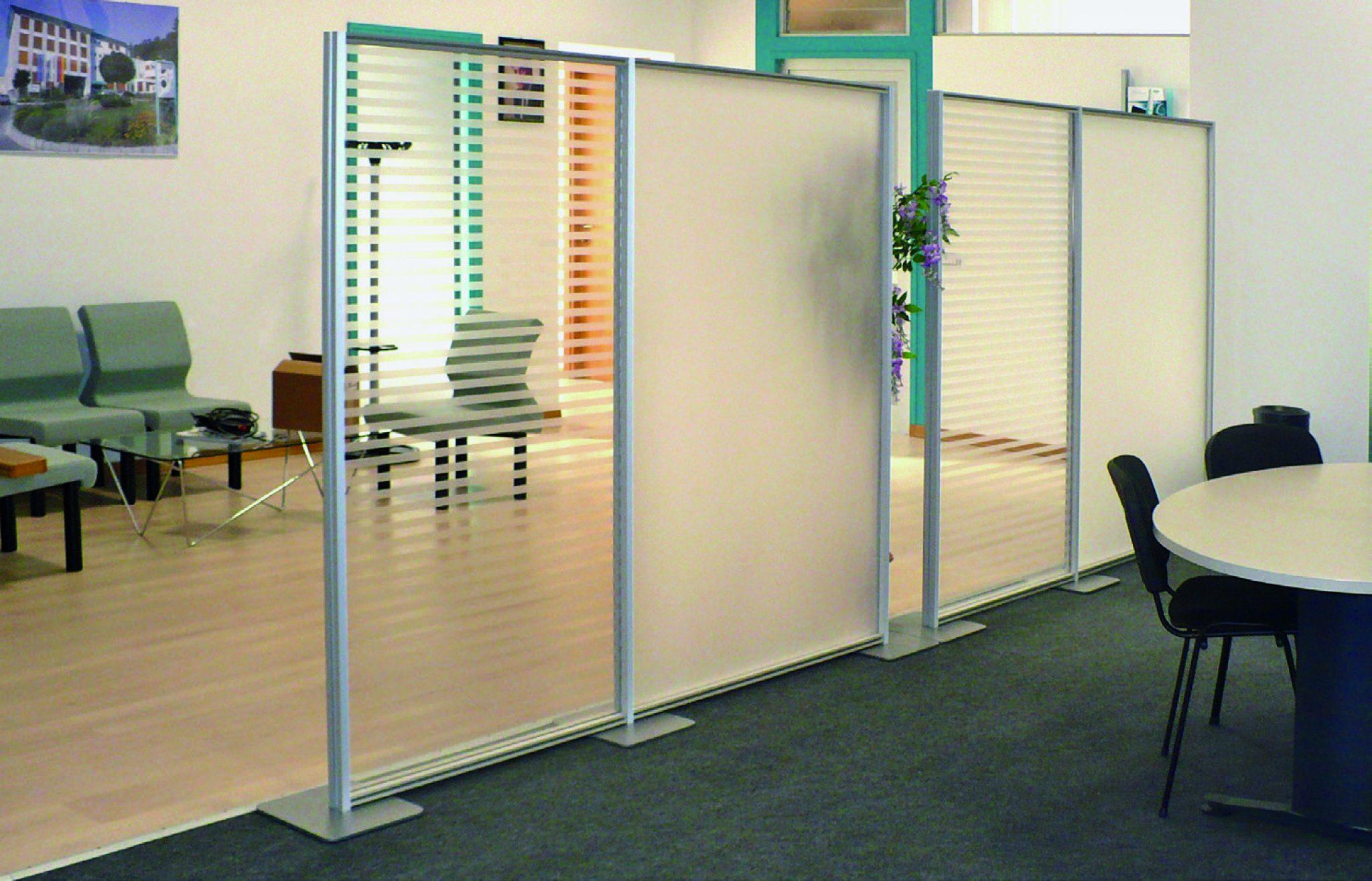 Pannelli divisori modulari separ pareti schermi for Pannelli divisori per ufficio