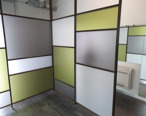 divisori per uffici open space