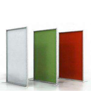 Pareti e pannelli divisori design per hotel musei uffici for Pannelli divisori ufficio