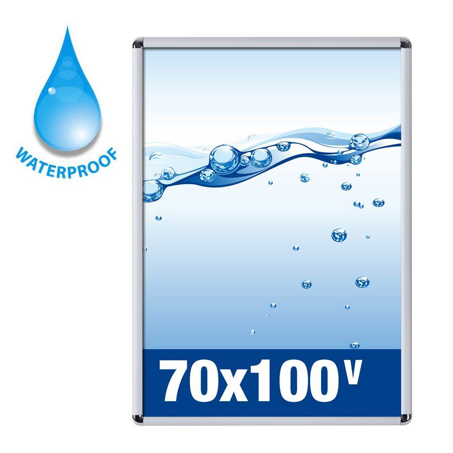 Cornice a scatto 70x100 Waterproof per uso esterno Studio T