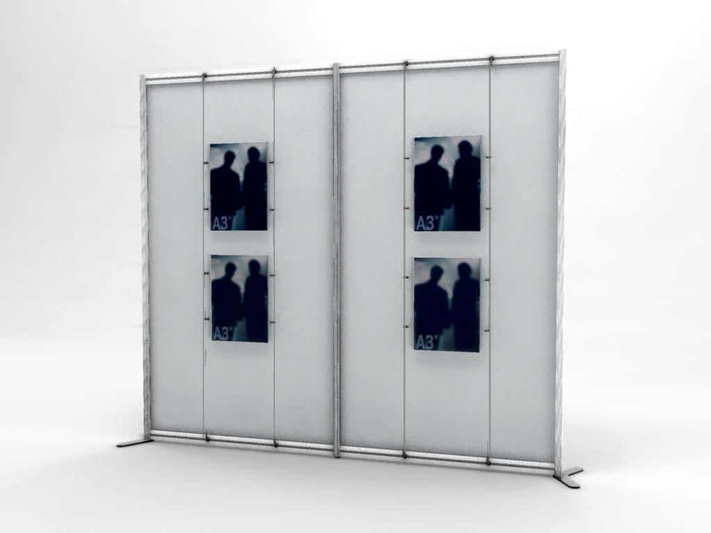 Pannelli divisori modulari, separè, pareti, schermi autoportanti ...