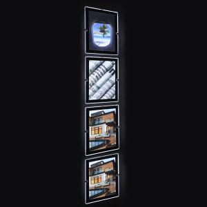 espositori vetrina agenzia immobiliare