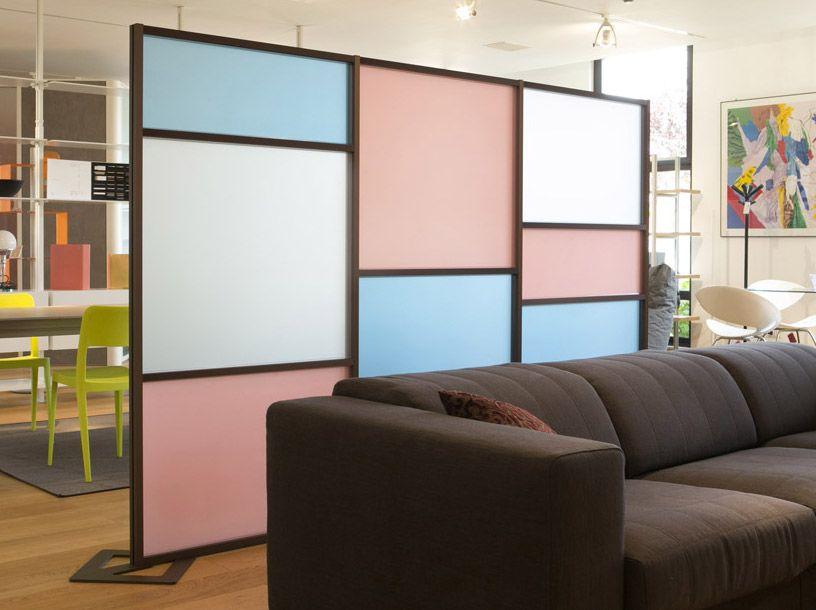 Parete divisoria design tetrix moderna per dividere gli for Ikea parete divisoria