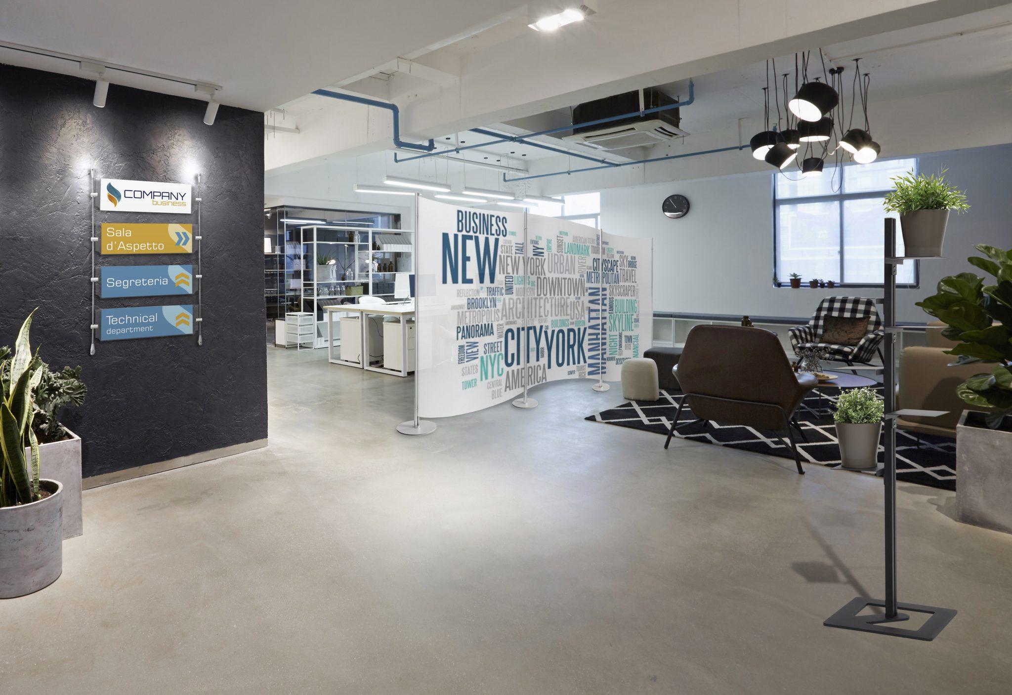 Come dividere gli spazi in ufficio con i pannelli divisori ufficio