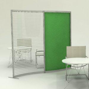 pannelli separatori per interni