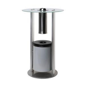 tavolo posacenere da terra