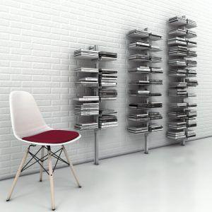 libreria a parete moderna