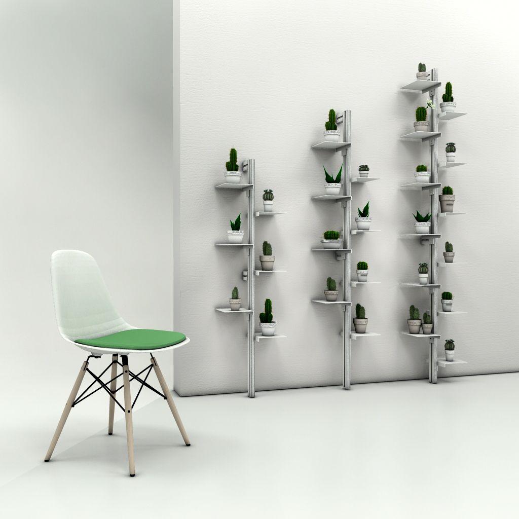 Portapiante da muro zt84 regardsdefemmes - Porta piante da esterno ...