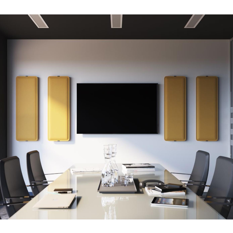 Pannelli fonoassorbenti da parete in diversi colori studio t for Pannelli fonoassorbenti bricoman