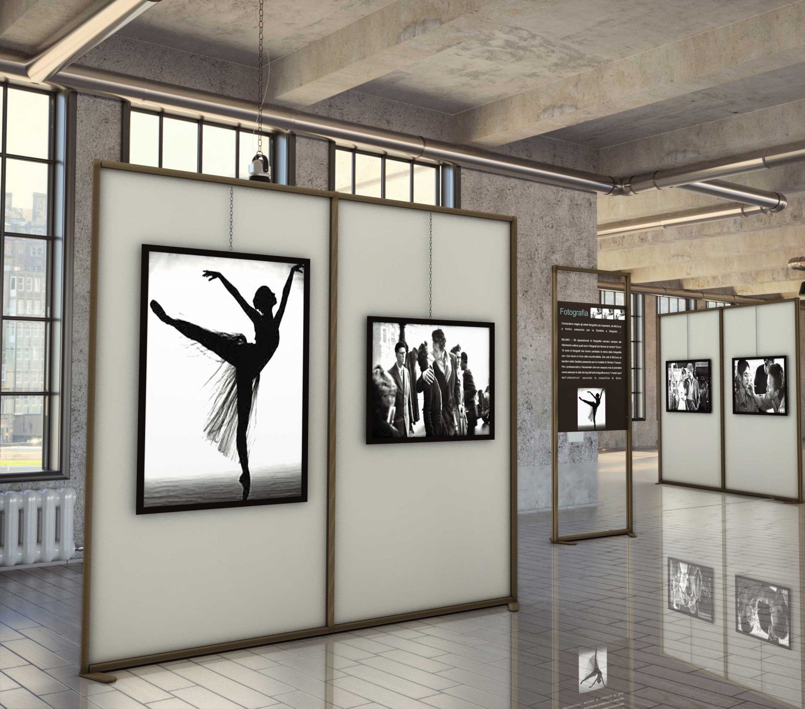 Favorito Pannelli espositivi modulari per allestimento mostra e museo  MG87