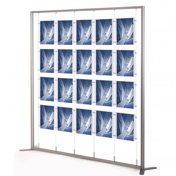 espositori per agenzie 20 tasche A4 verticali