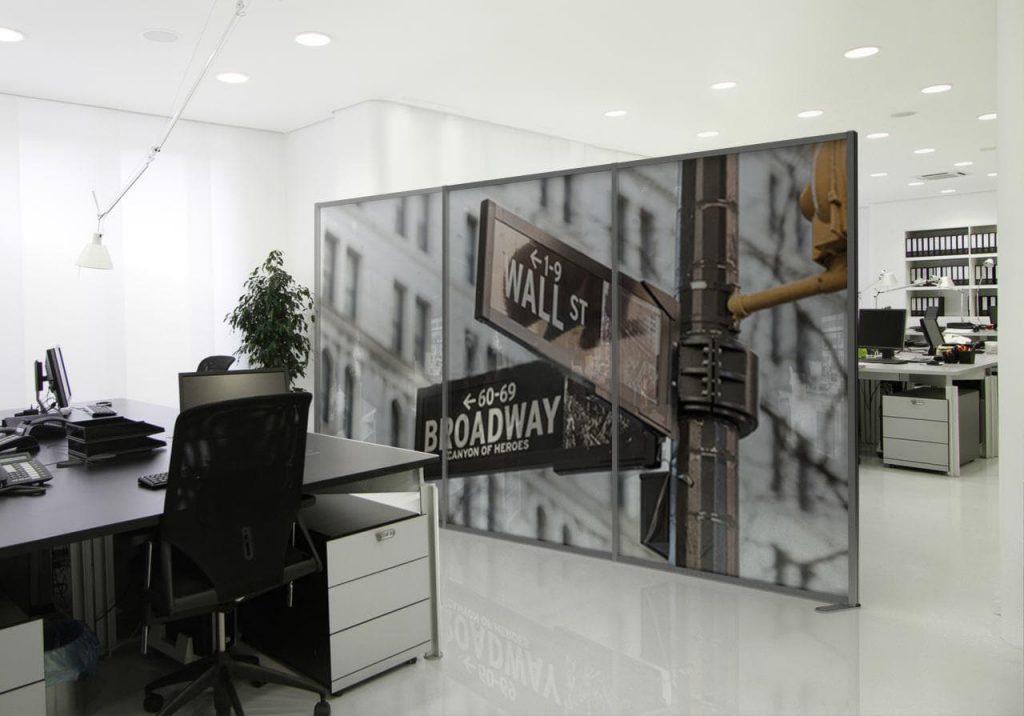 Divisori moderni per ambienti, uffici, banche, agenzie - Studio T