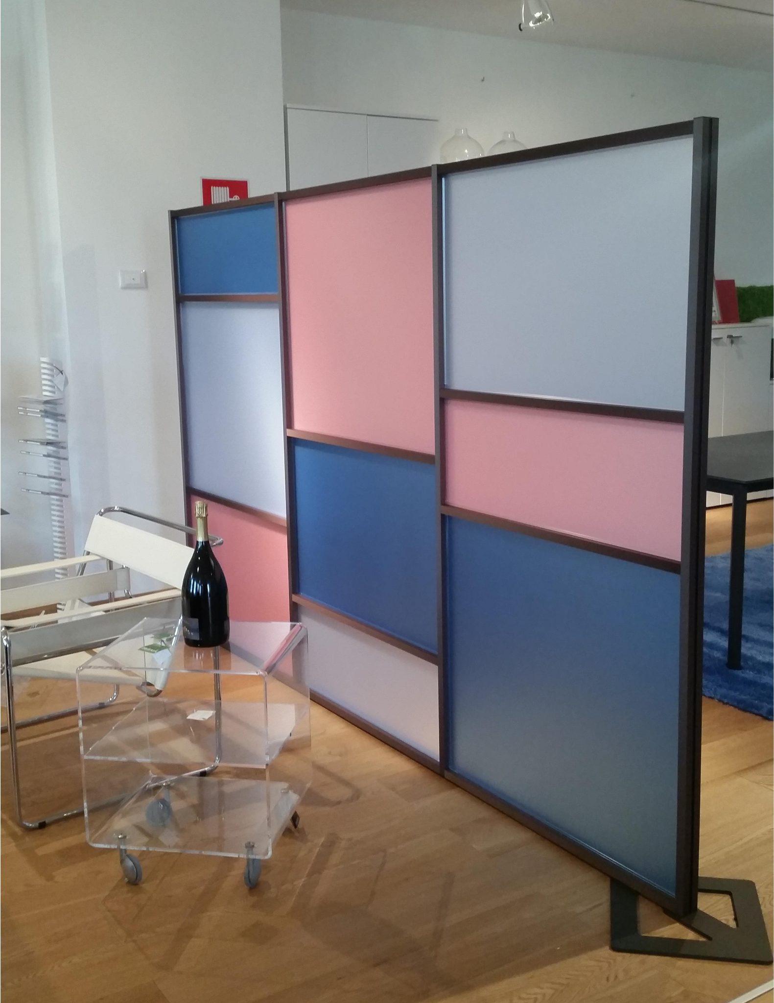 Parete divisoria design tetrix moderna per dividere gli for Divisori ambienti ikea