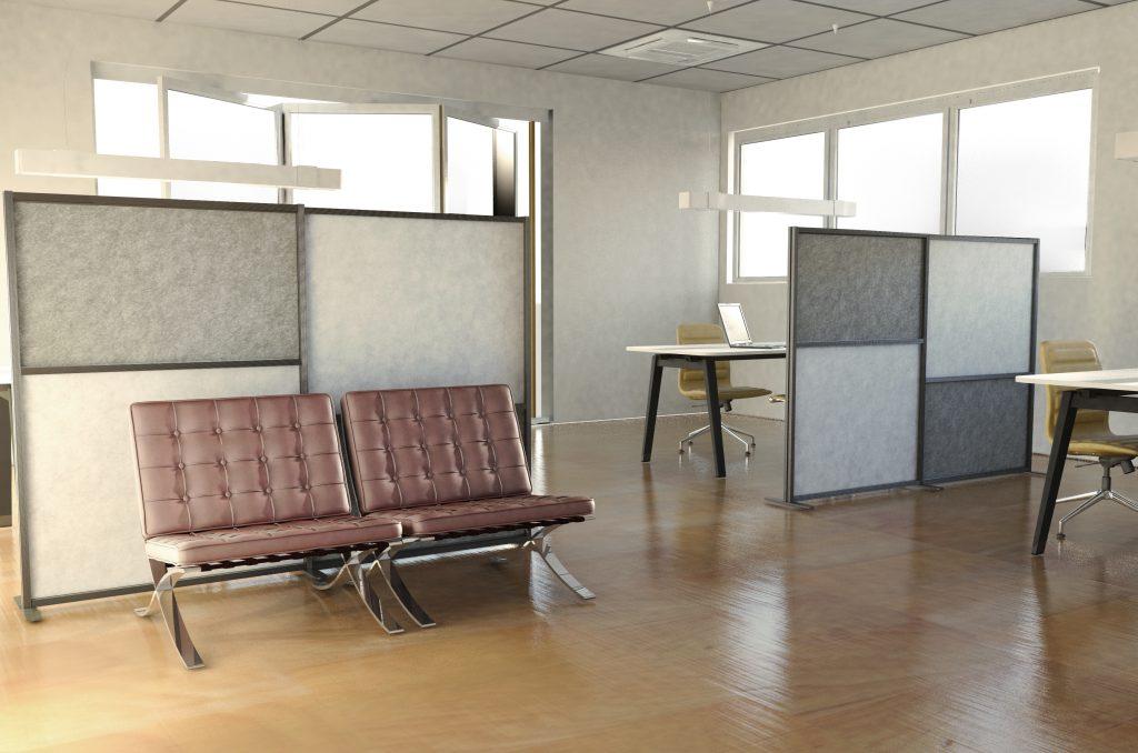 Spazio al colore con tetrix inuno divisori mobili per dividere e colorare gli spazi di casa e - Mobili per recuperare spazio ...