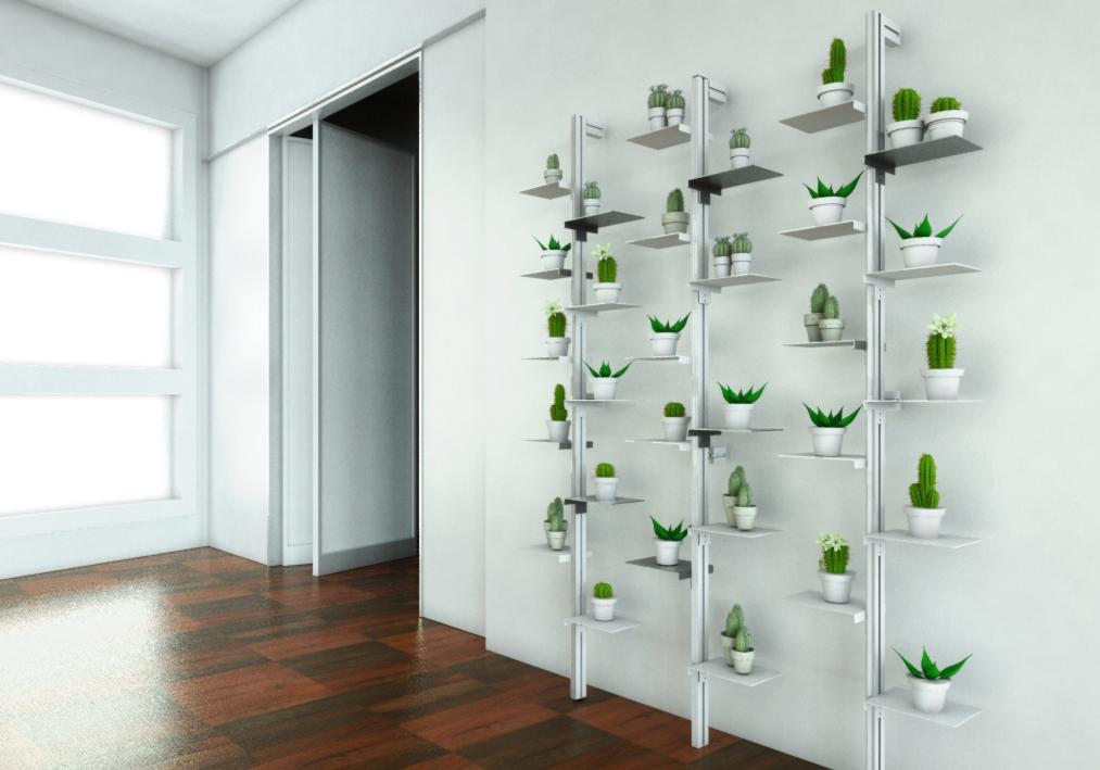 Come realizzare un giardino verticale in casa e ufficio: ecco mr