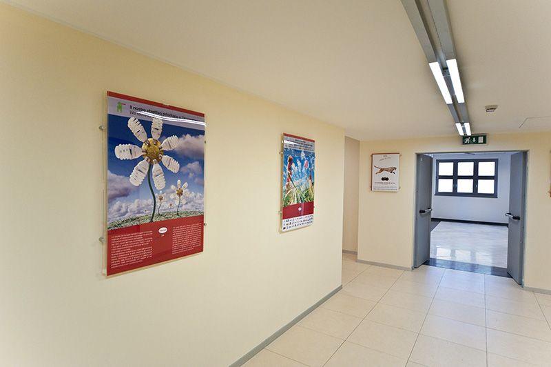 porta poster a parete