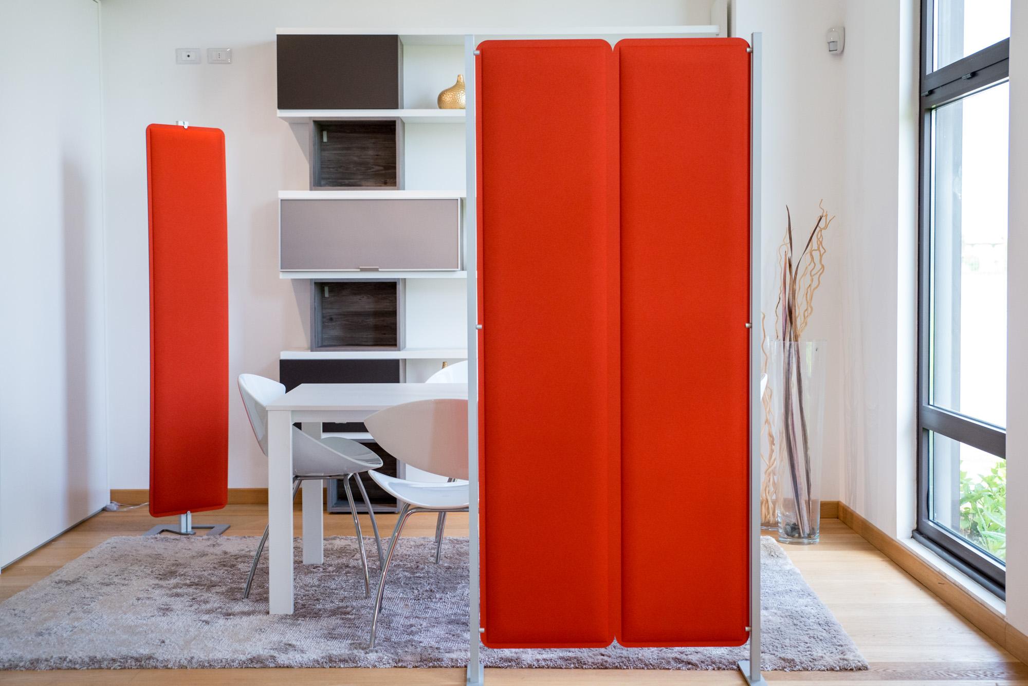 Scopri le soluzioni fonoassorbenti di studio t a parete e for Applicazioni per arredare interni