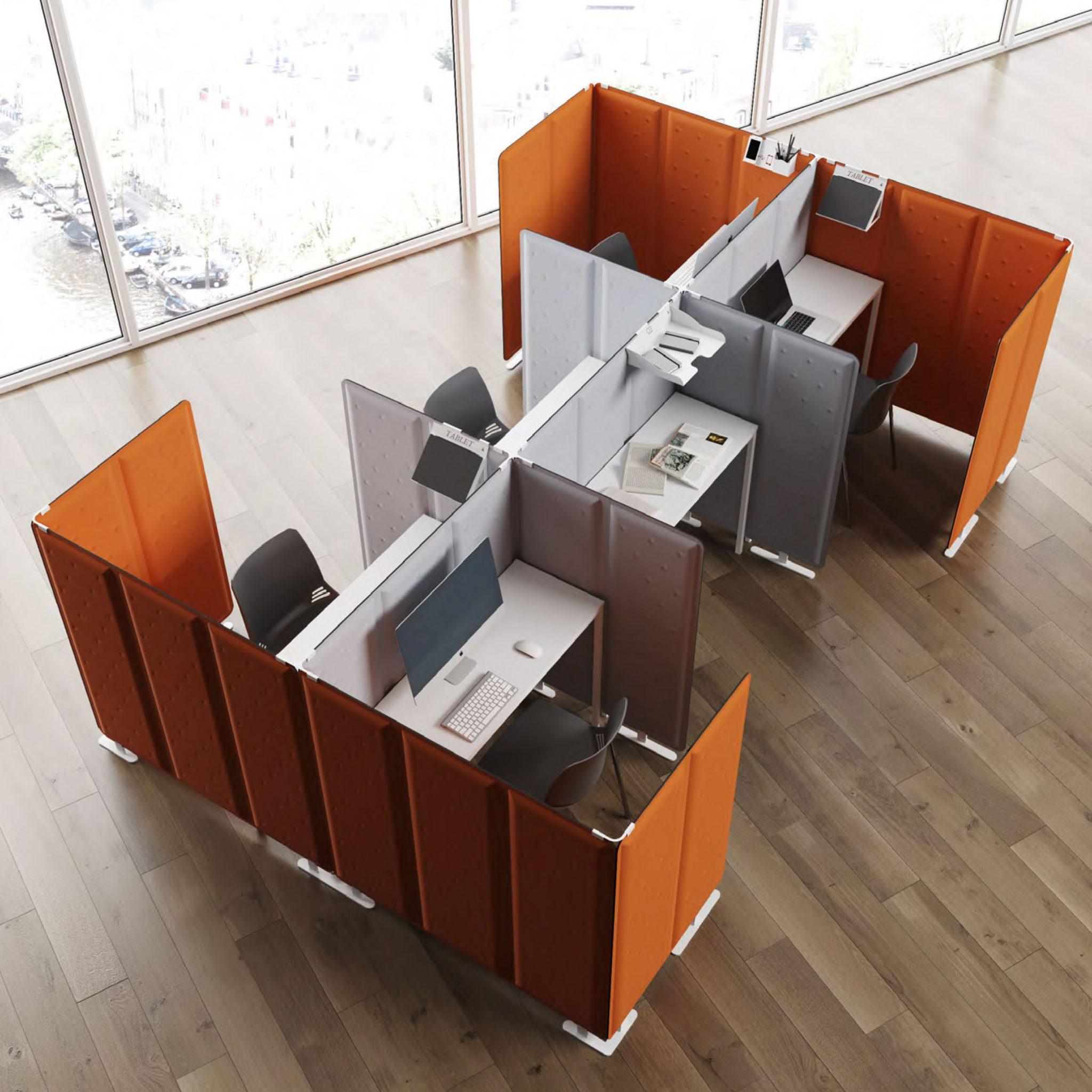 Pannelli divisori fonoassorbenti per ufficio: riduci il ...