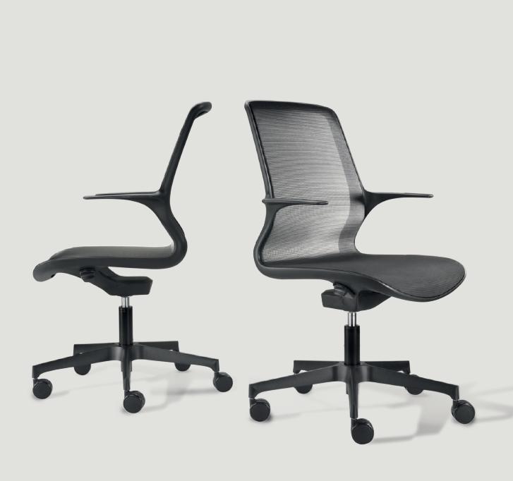 Sedia per ufficio ergonomica loop 48 in pronta consegna for Sedute da ufficio