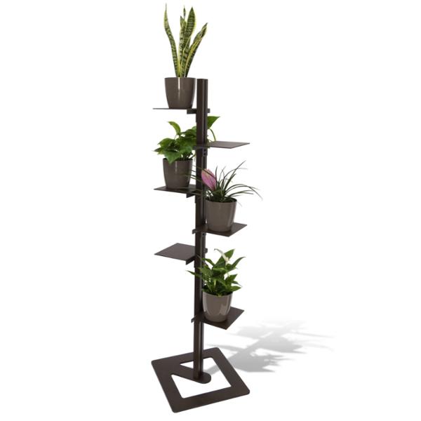Porta piante da interno mr green con 4 piante purifica - Porta piante da esterno ...