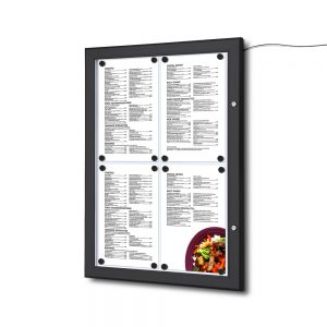 bacheca menu esterno