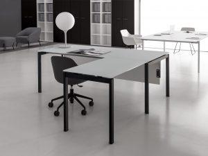 scrivania angolare ufficio 180x80