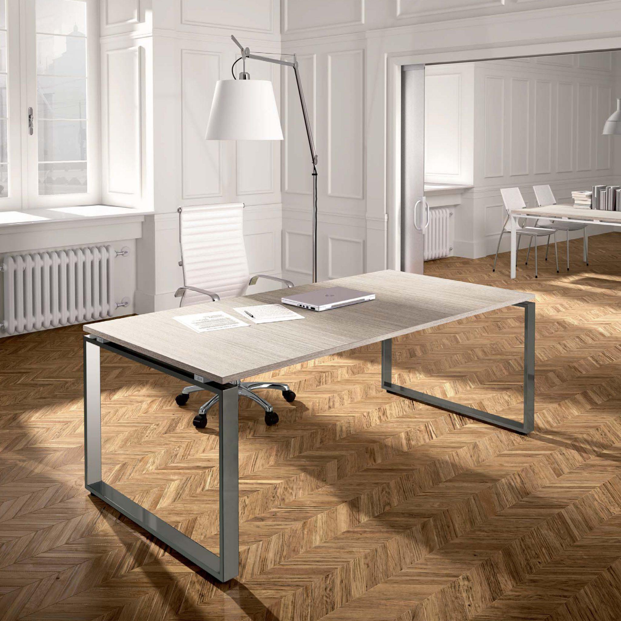 Scrivanie ufficio design moderno loft minimal ed elegante for Scrivania design