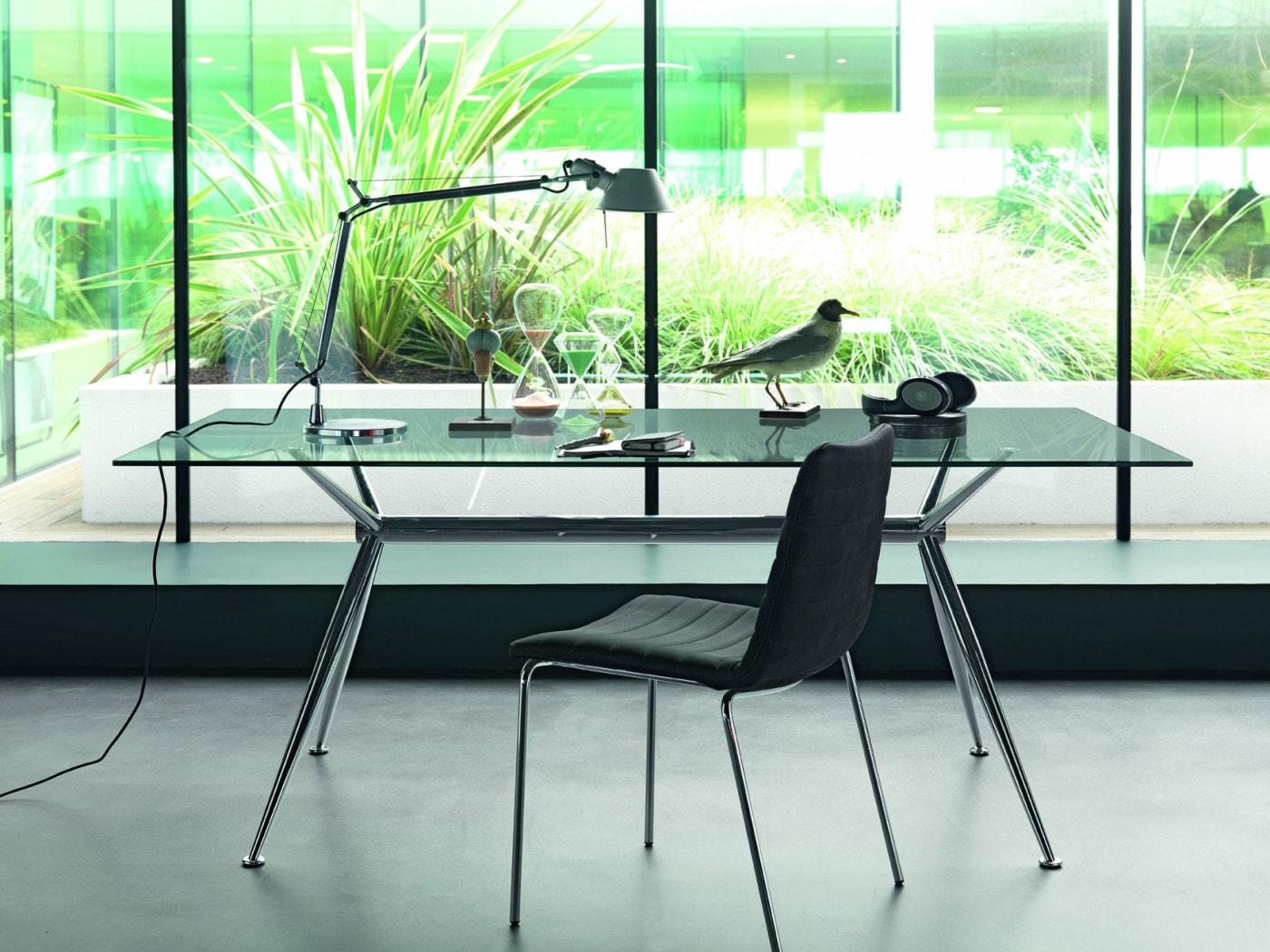 Immagini Tavoli In Cristallo.Tavoli In Cristallo Design 100 Made In Italy Studio T