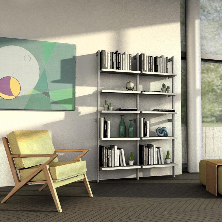 Libreria da parete Gatsby - L 65 cm - Studio T